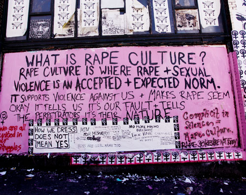 Rape Culture  Photo from thestranger.com