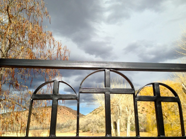 Photo taken in Chimayo, New Mexico, by Rachel Halder